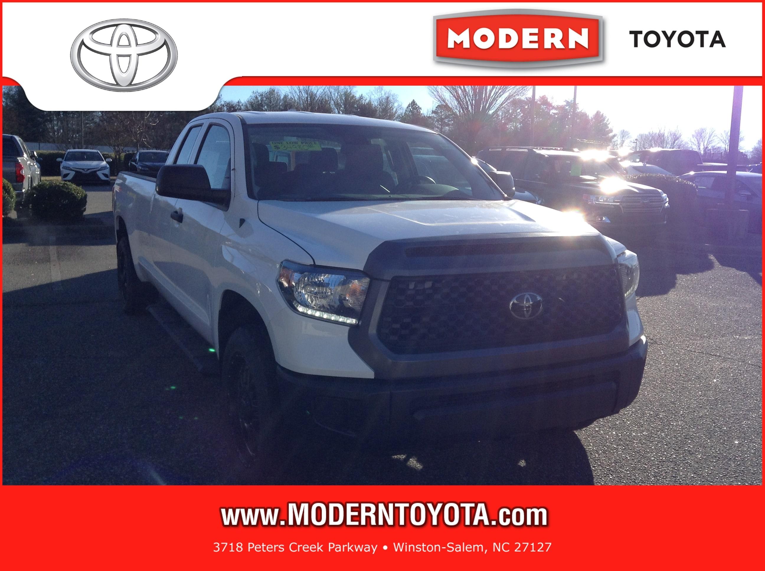 2018 Toyota Tundra SR 5.7L V8 w/FFV Truck Double Cab