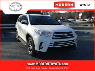 New 2019 Toyota Highlander XLE V6 SUV Winston Salem, North Carolina