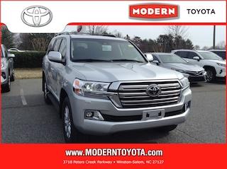 New 2019 Toyota Land Cruiser V8 SUV Winston Salem, North Carolina