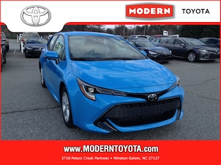 New 2019 Toyota Corolla Hatchback SE Hatchback Winston Salem, North Carolina
