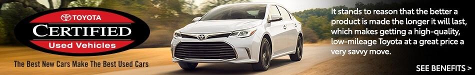 Toyota Certified Benefits