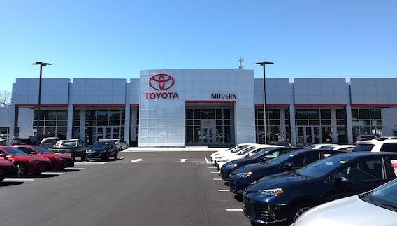 Modern Toyota Winston Salem Nc >> About Modern Toyota Toyota Dealership In Winston Salem Nc