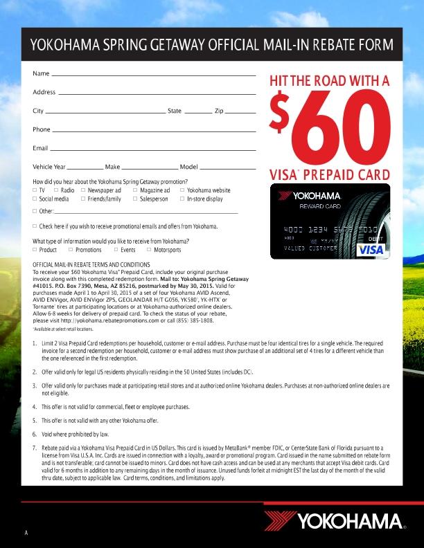 Modern Toyota Winston Salem Nc >> Yokohama Tires Promotion   Modern Toyota