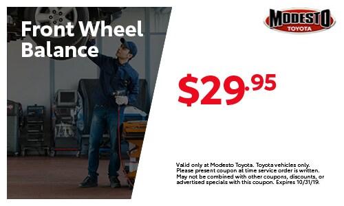 Front Wheel Balance