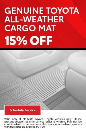 Genuine Toyota All-Weather Cargo Mat
