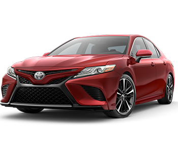 Red Camry XSE