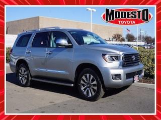 New 2021 Toyota Sequoia Limited SUV for sale in Modesto, CA