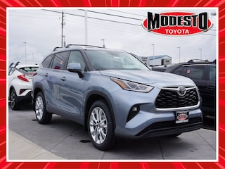 New 2021 Toyota Highlander Limited SUV for sale in Modesto, CA