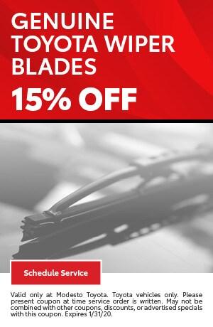 Genuine Toyota Wiper Blades