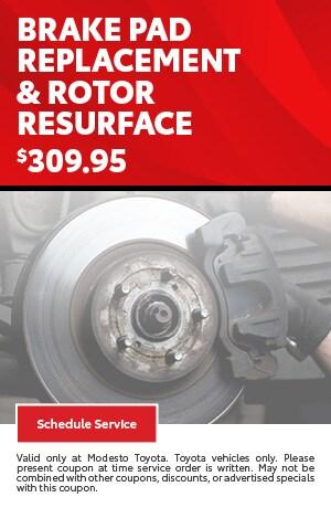 Brake Pad Replacement & Rotor Resurface