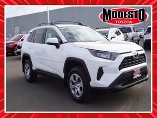 New 2021 Toyota RAV4 LE SUV for sale in Modesto, CA