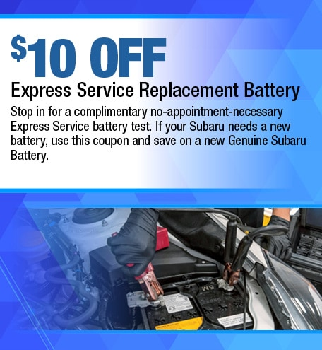 Express Battery Service Special