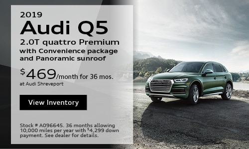 2019 Audi Q5 $469 Lease Offer