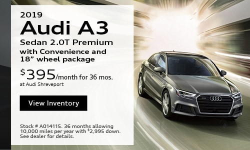 2019 Audi A3 $395 Lease Offer