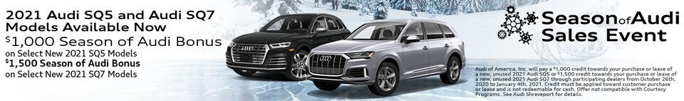 2021 Audi SQ5 and Audi SQ7 Models Available Now