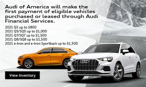 January First payment by Audi Offer