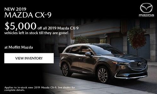 New 2019 Mazda CX-9 $5,000 off
