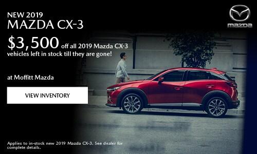 New 2019 Mazda CX-3 $3,500 off