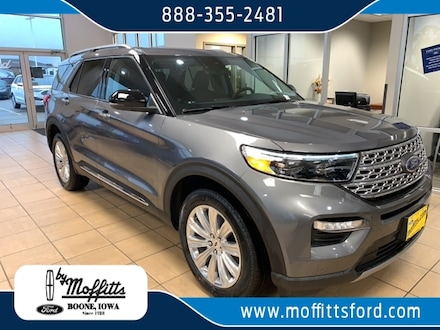 2021 Ford Explorer Limited SUV For Sale in Boone, IA