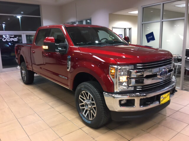 2019 Ford Super Duty F-350 SRW Lariat Truck Crew Cab For Sale near Ames, IA