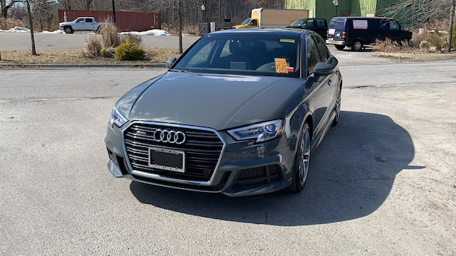 Certified used 2017 Audi A3 Premium Plus Sedan for sale in Westchester County NY