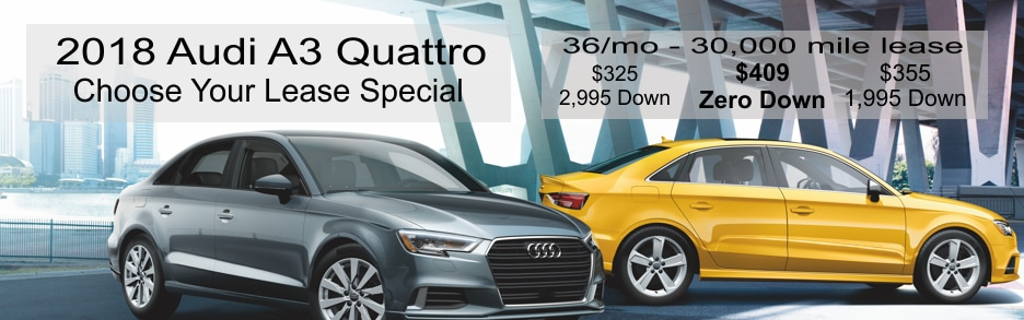 Audi A Lease Special At Mohegan Lake Audi In Mohegan Lake - Audi zero down lease