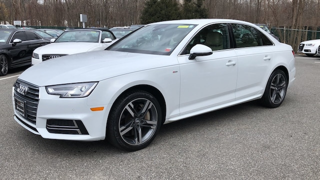 Certified used 2017 Audi A4 Premium Plus Sedan for sale in Westchester County NY
