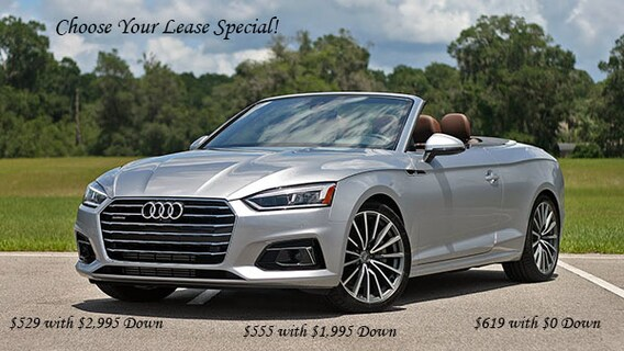 2018 Audi A5 Cabriolet Lease Special Mohegan Lake Ny
