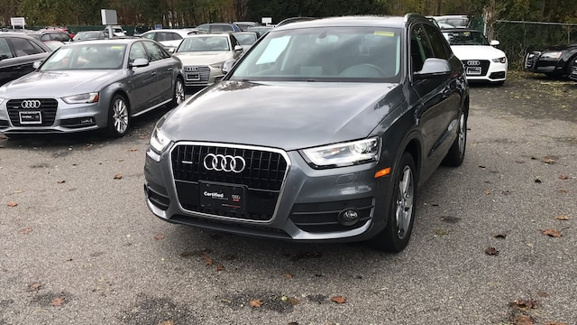 Certified used 2015 Audi Q3 2.0T Premium Plus SUV for sale in Westchester County NY
