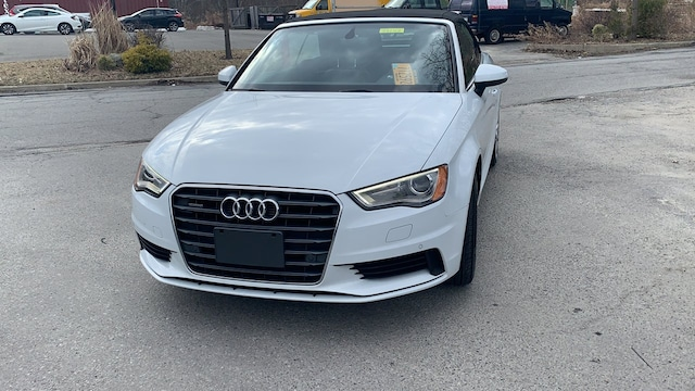 Certified used 2016 Audi A3 2.0T Premium Plus Cabriolet for sale in Westchester County NY