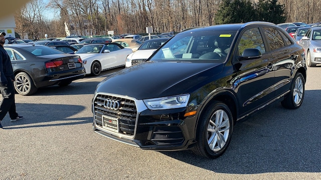 Certified used 2017 Audi Q3 Premium SUV for sale in Westchester County NY