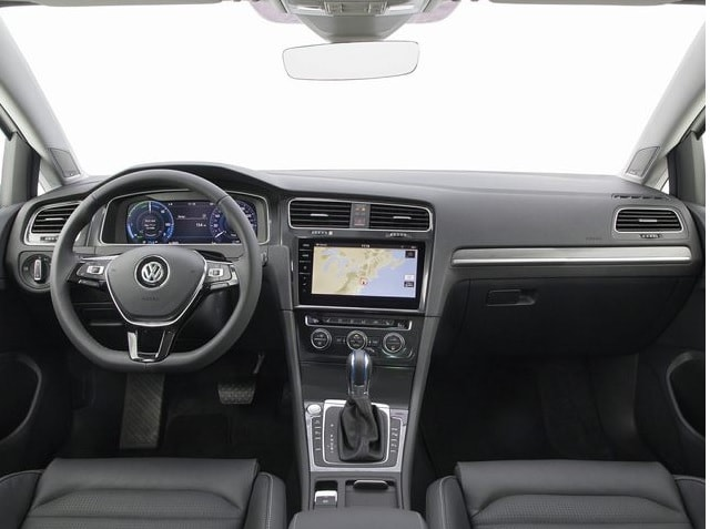 New VW eGolf interior