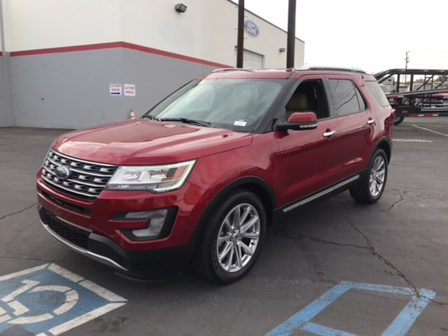 Used 2017 Ford Explorer Limited SUV in Barstow, CA