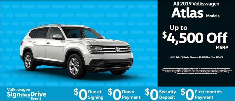 New Volkswagen Super Sale Specials Molle Volkswagen