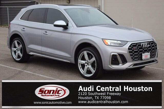 New 2021 Audi SQ5 3.0T Premium Plus SUV for sale in Houston