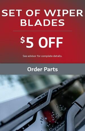 Set of Wiper Blades