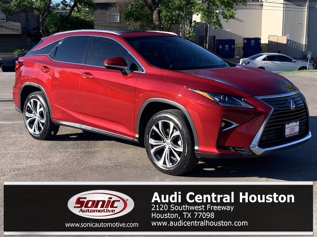 Used 2016 LEXUS RX 350 FWD 4dr SUV for sale in Houston
