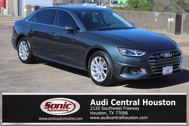 New 2021 Audi A4 40 Premium Sedan for sale in Houston