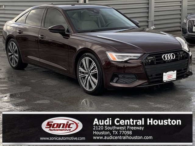 New 2021 Audi A6 45 Premium Plus Sedan for sale in Houston