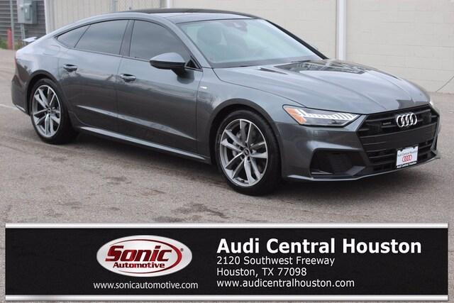 New 2021 Audi A7 55 Premium Plus Sportback for sale in Houston