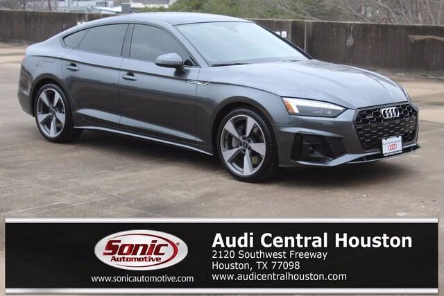 New 2021 Audi A5 45 Premium Plus Sportback for sale in Houston
