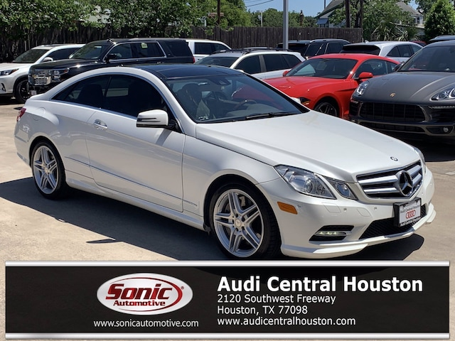 Used 2013 Mercedes-Benz E-Class E 550 Coupe for sale in Houston