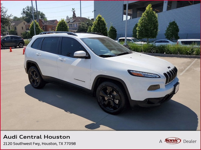 Used 2018 Jeep Cherokee Limited SUV for sale in Houston