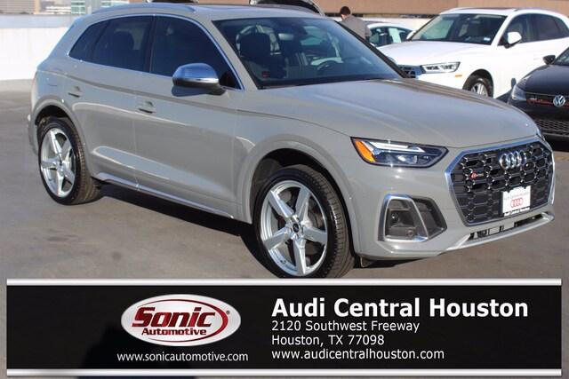 New 2021 Audi SQ5 3.0T Premium SUV for sale in Houston