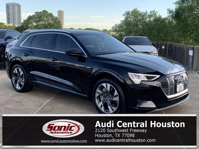 New 2021 Audi e-tron Premium SUV for sale in Houston