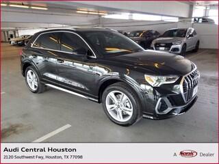 New 2022 Audi Q3 45 S line Premium Plus SUV for sale in Houston