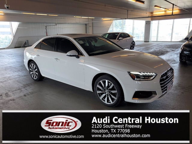 New 2021 Audi A4 40 Premium Plus Sedan for sale in Houston