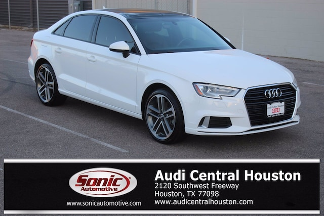Used 2018 Audi A3 Premium Sedan for sale in Houston