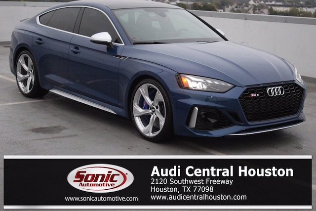 New 2021 Audi RS 5 2.9T Sportback for sale in Houston