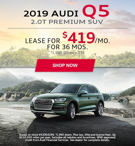 Audi Lease Deals >> Audi Lease Deals In Houston Audi Central Houston Specials